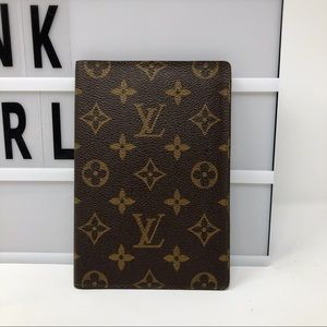 Louis Vuitton monogram passport cover holder